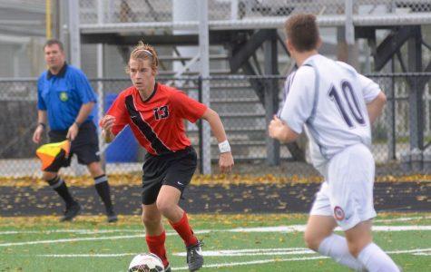 Varsity Boys' Soccer District Win – Photos