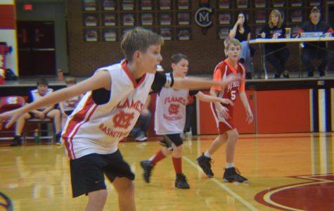 Junior High Boys' Basketball Scrimmage Photos