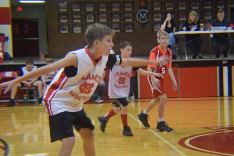 Junior High Boys' Basketball Scrimmage Photos