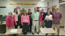 Professional Editor visits the Senior English Class