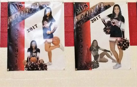 Senior Night for the Cheerleaders!