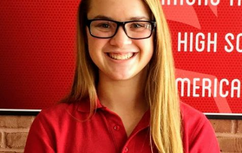 Audrey Scores Student of the Week