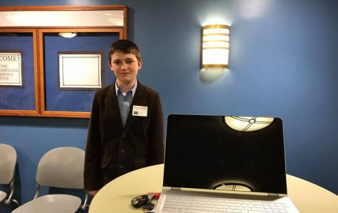Seventh Grader Awarded $2,500