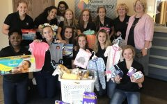MCS Lady Flames Volleyball Gives Back
