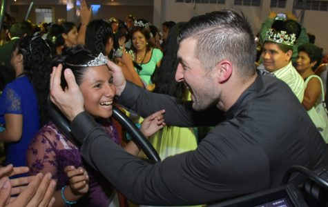 Tim Tebow Sponsors Night to Shine