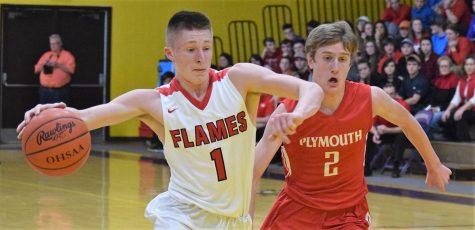 Boys' Varsity eliminates Plymouth