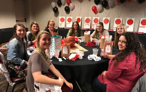 Lady Flames Basketball Banquet
