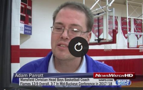 WMFD covers Coach Parrott