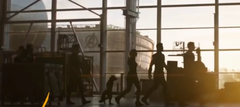 Photo from the Avengers: Endgame trailer
