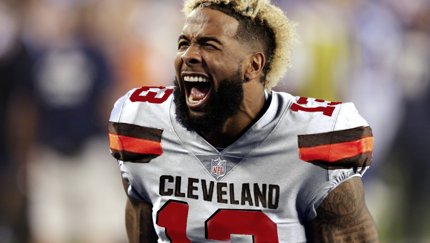 Odell Beckham Jr. is excited to start a new chapter of his career in Cleveland.