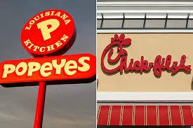 Popeye's Versus Chick-Fil-A