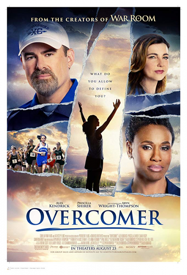 Promotional poster for Overcomer