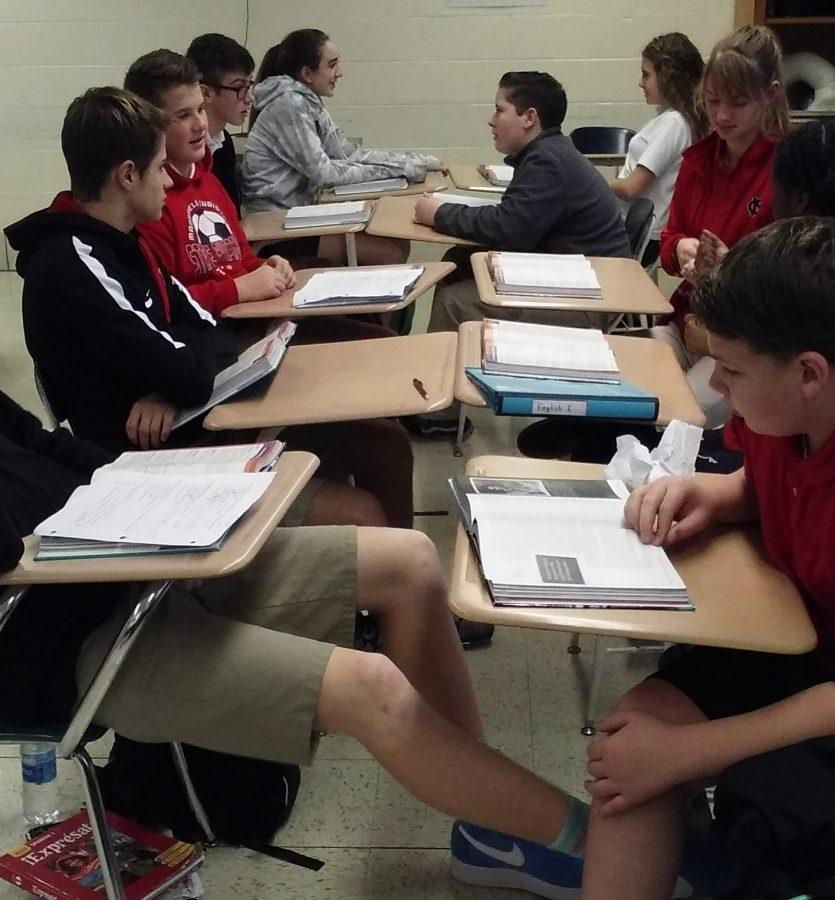 Second period English I discussion
