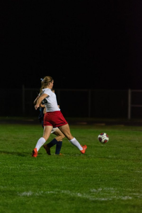 Audrey Martin wins Athlete of the Week Her Senior Year of Soccer
