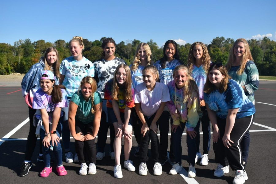 Mrs.+Beares+D-Group+dressed+up+for+Tie+Dye+day