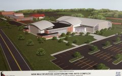 Artist rendering of a proposed new building at MCS.